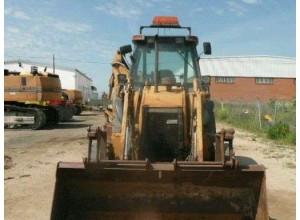 Buldoexcavator CASE 580SLE