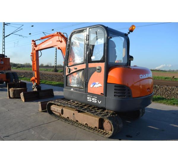 Excavator Daewoo 55V 5.5 tone