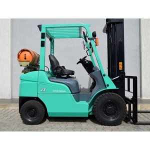 Stivuitor Mitsubishi 2.5 tone benzina + gpl