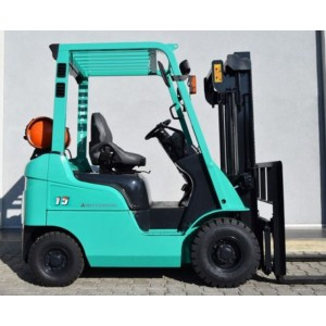 Stivuitor Benzina + Gaz Mitsubishi 1.5 tone